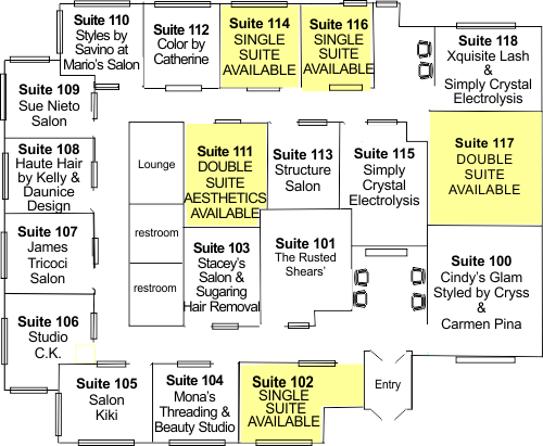 Instyle Suites St.  Charles IL Floorplan